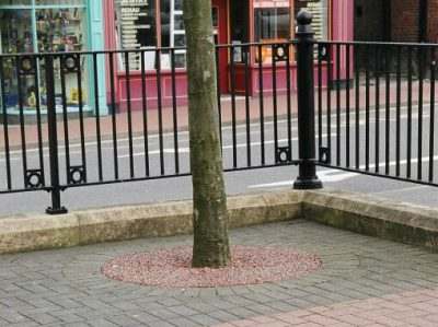 Resin Bound Tree Pits