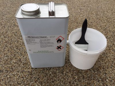 Solvent Cleaner Resin Bound Tools & Equipment
